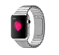Watch Band for apple watch 38mm bracelete de aço inoxidável 42mm pulseira de borboleta com conector