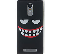 Smiling Face Painting Pattern TPU Soft Case for Xiaomi Redmi Note 3