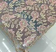 cheap -Polyester Rectangular Table Cloth Patterned Embroidered Eco-friendly Table Decorations