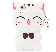 3D Smile Cat Silicone Case for iPhone 7 7 Plus 6s 6 Plus SE 5s 5