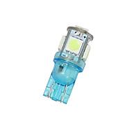 10x iceblue T10 5SMD 5050 купола автомобиля лицензии свет W5W карту 158 192 194 168