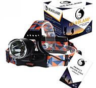 U'King ZQ-X8000 Lanternas de Cabeça Faixa Para Lanterna de Cabeça LED 3000LM Lumens 3 Modo Cree XM-L T6 Baterias não incluídas