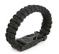 Beadia® Life-saving Bracelet Survival Paracord Bracelet Outdoor Scraper Whistle Flint Fire Starter Gear Kits Christmas Gifts