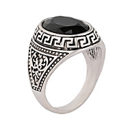 The The Ancient Silver Jewelry Resin Stone Europe And The US Popular  Gems Female Ring