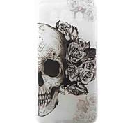Skull Pattern Material TPU Phone Case for Samsung Galaxy J3 J5 J7 J1(2016) J510 J710 G530