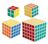 cheap -Rubik's Cube shenshou 2*2 5*5*5 4*4*4 3*3*3 2*2*2 Smooth Speed Cube Magic Cube Puzzle Cube Professional Level Speed New Year Children's