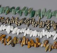 beadia природных каменных бус 10-30mm неправильной формы камень разделительные бусины 38см / ул (около 50шт)
