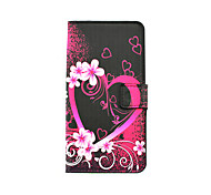 cheap -Heart Pattern PU Leather Full Body Case with Stand and Card Slot for LG G4 Stylus/G3 Stylus/G4 mini/G3 mini