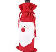 Недорогие -3шт 2016 новый горячий Санта-Клауса рождественские подарок подарок бутылка вина наборы украшение