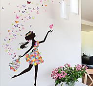 cheap -Cartoon Wall Stickers Plane Wall Stickers Decorative Wall Stickers, PVC Home Decoration Wall Decal Wall Glass/Bathroom