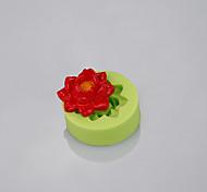 baratos -Fundição de flores molde usado fondant bolo fimo argila doces moldar ferramentas cozinha acessórios cor aleatória