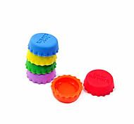 economico -silica gel bottiglia copertura creativo tappo / conservazione (6 pezzi) - colore casuale