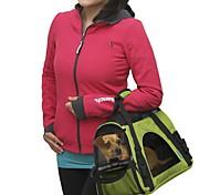 Недорогие -Кошка Собака Переезд и перевозные рюкзаки Слинг Животные Корпусы Компактность Дышащий Однотонный Желтый Красный Зеленый Синий Розовый