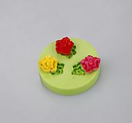 abordables -molde de torta de silicona en forma de ballena para flores fondant chocolate molde herramientas de arcilla polimérica color ramdon