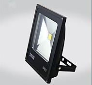 50W Warm/Cool White Color Black Ultra Thin IP65 Outdoor Led Floodlight Led Bulb (AC85-265V)