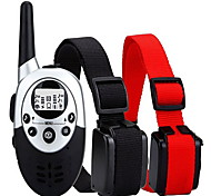 cheap -Dog Training Collars Anti Bark / Waterproof / 1000M Remote Control / Rechargeable / Wireless / Shock/Vibration for 2 Dogs