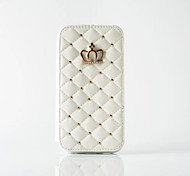 cheap -Luxury Crown Magnetic Flip Wallet Case Photo Frame Grid Pattern Skin Leather Cover For Iphone  6S 6SPlus 5S SE