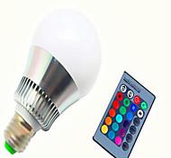 Недорогие -8W 350-450lm E14 GU10 E26 / E27 Умная LED лампа G80 1 Светодиодные бусины Высокомощный LED Диммируемая На пульте управления RGB 85-265V