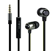 Maoke M7  In-Ear Earphone Metal Heavy Bass Sound Quality Music Earphone Universal Use For Mobile Phones And MP3 MP4