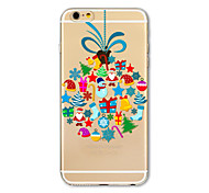 Back Cover Translucent Pattern Christmas gifts TPU Soft Case Cover For AppleiPhone 7 7plus iPhone 6 6 Plus iPhone 5