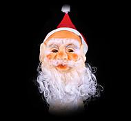 Недорогие -Санта-Клауса рождественские украшения маски протезирование с отсутствующими шляпу Санта Клауса