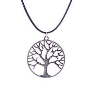 cheap -Latest Fashion Leather Cord Pendant Necklace