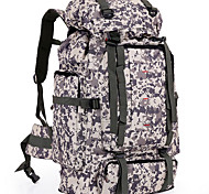 FENGTU® Outdoor Camouflage Backpack 80L Nylon Sports Bag Men And Women Backpack Hiking Camping Backpacks