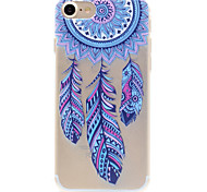 Dream Catcher Pattern TPU High Purity Translucent Openwork Soft Phone Case for iPhone 7 7Plus 6S 6Plus SE 5S 5