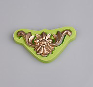 Винтаж европейский рельеф торт украшен силиконовой формы кухня выпечки инструменты цвет случайным