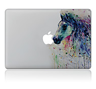 cheap -1 pc Skin Sticker for Scratch Proof Oil Painting Pattern PVC MacBook Pro 15'' with Retina MacBook Pro 15'' MacBook Pro 13'' with Retina