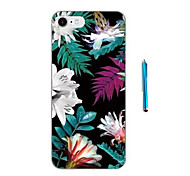 cheap -Flowers and Green leaves Pattern  Soft TPU Bumper Case for Apple iPhone 7 Plus 7 6s 6 Plus SE 5s 5 and Stylus