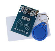 cheap -RC522 RFID Module + IC Card + S50 Fudan Cards Key Chains for (For Arduino) Provide Development Code