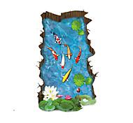 Недорогие -Пейзаж Наклейки 3D наклейки Декоративные наклейки на стены Украшение дома Наклейка на стену Стена Пол