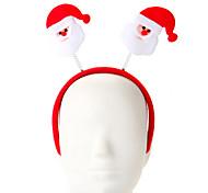 1 Pc Sponge Santa Claus Design Hair Hoop Christmas Ornament Party Supply