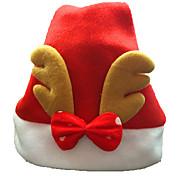 adornos de navidad adultas comunes sombreros de la Navidad con los sombreros de santa astas para la decoración del partido del hogar