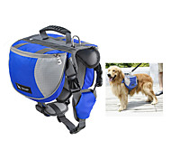 Dog Dog Pack Pet Carrier Waterproof Portable Orange Ruby Blue Black