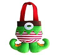 2pcs рождественские украшения рождественский подарок мешок конфеты мешок Рождественский подарок Рождественский подарок мешок