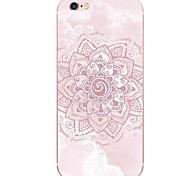 Недорогие -Для Ультратонкий / Полупрозрачный Кейс для Задняя крышка Кейс для Мандала Мягкий TPU AppleiPhone 7 Plus / iPhone 7 / iPhone 6s Plus/6