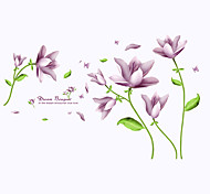 cheap -Fashion Florals Fantasy Wall Stickers Plane Wall Stickers Decorative Wall Stickers, PVC Home Decoration Wall Decal Wall