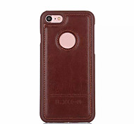 Shockproof Solid Color Soft PU Leather Case for Apple iPhone 7 Plus 7 6s Plus 6s 5s 5c 4s