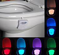 cheap -YouOKLight 1pc LOVE Toilet Light Color-changing AA Batteries Powered Color-Changing Light Control <5V LED Light
