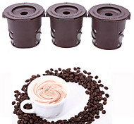 K-Cup Reusable Coffee Filters for Keurig  3Pack Clever Coffee Capsules