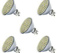 3.5 GU10 GX5.3 LED Spotlight MR16 80led SMD 2835 400-450lm Warm White Cold White 2700K/6500K Decorative