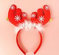 2pcs с рогами колокол уши оголовье голову пряжки праздник платье макияж рождественские украшения реквизит
