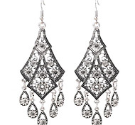 cheap -Women's Tassel Sterling Silver Silver Plated Gold Plated Drop Earrings - Tassel Gold Silver Others Earrings For Party Daily Casual