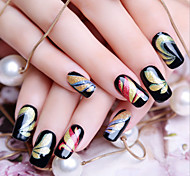 12 Стикер искусства ногтя 3D наклейки на ногти макияж Косметические Nail Art Design