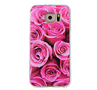 abordables -Coque Pour Samsung Galaxy Motif Coque Fleur Flexible TPU pour Note 5 Note 4 Note 3