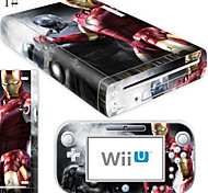 cheap -B-Skin® Decal Skin Sticker (High Gloss Coating) for Nintendo Wii U Console + Controller Device(Assorted Pattern)