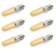 Недорогие -480 lm E14 Двухштырьковые LED лампы T 4 светодиоды COB Тёплый белый Холодный белый AC 220-240V AC 85-265V
