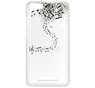 cheap -For Wiko Lenny 3 Sunset 2 Case Cover Musical Notes Pattern Back Cover Soft TPU Lenny 3 Sunset 2